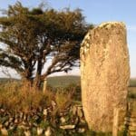 Large standing stone in West Cork
